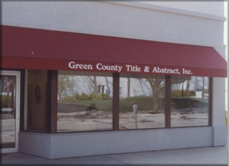Monroe Office Green County Title and Abstract, Inc.