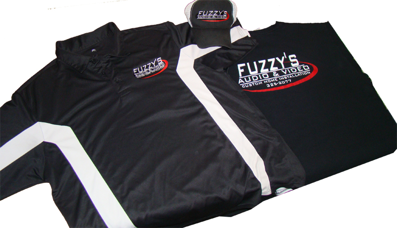 Fuzzy's branding package
