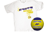 Tee/Custom Volleyball Combo Pack